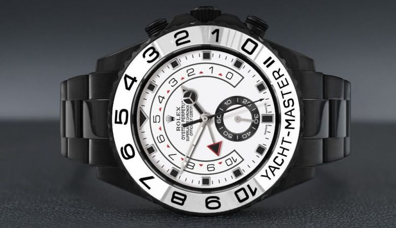 Limited Edition Replica Rolex Yacht-Master II 116680 Black Venom