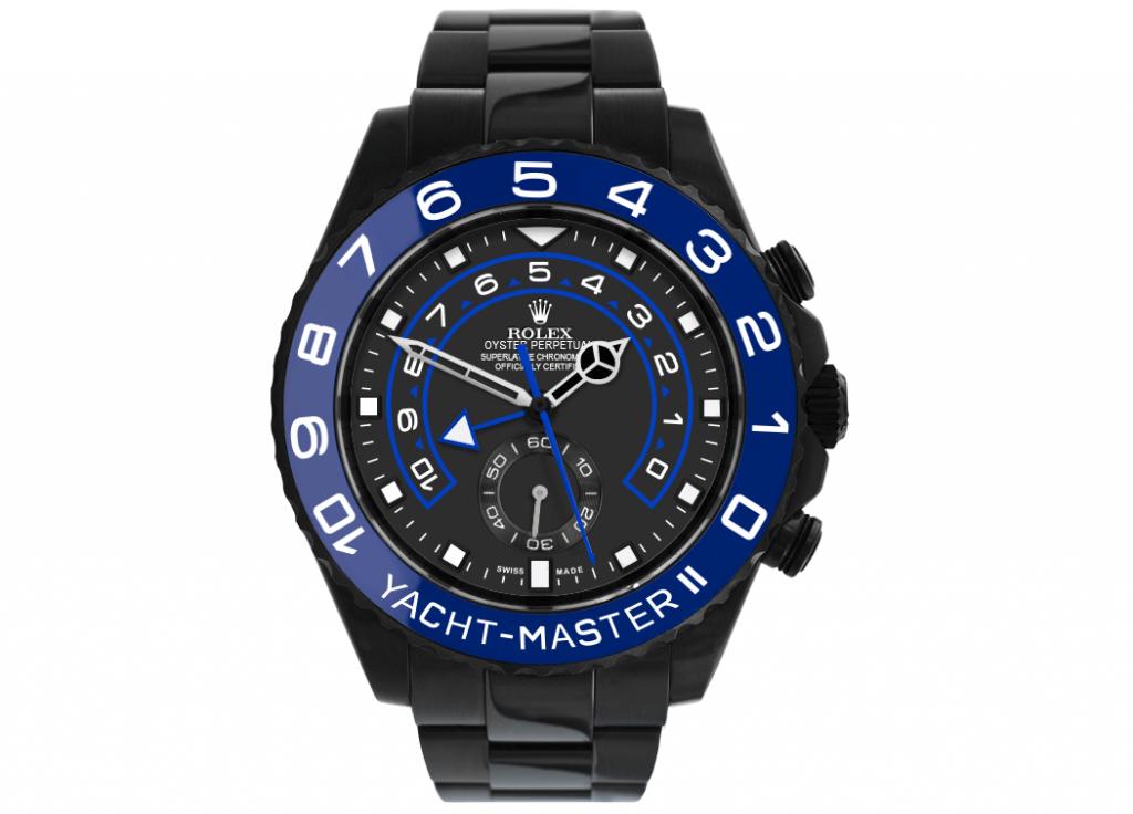 Limited Edition Rolex Replica Yacht-Master II 116680 Black Venom