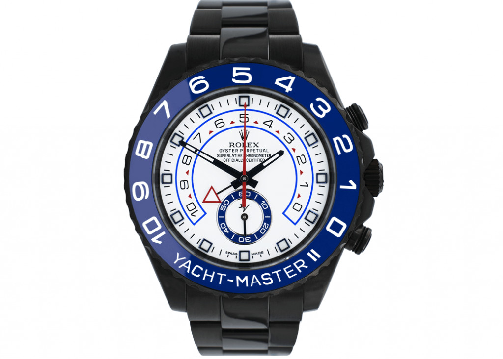 Limited Edition Rolex Yacht-Master Fake II 116680 Black Venom