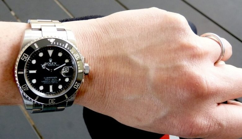 Rolex fake Submariner 116610LN watch
