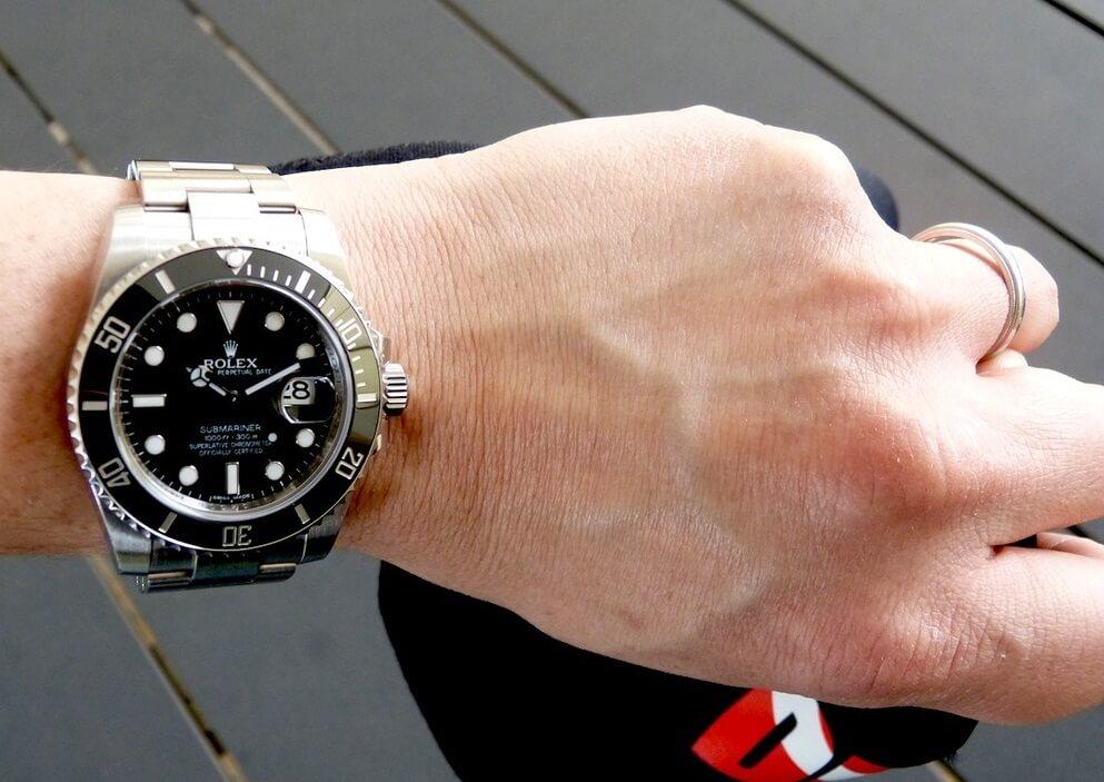 Rolex fake Submariner 116610LN watch