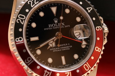 replica Rolex GMT-Master II Coke With Black And Red Cerachrom Bezel